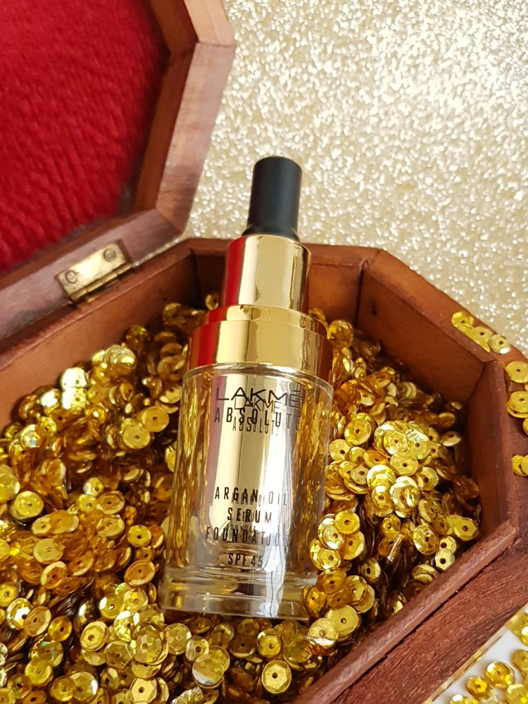 Lakme Argan Oil Foundation review and swatches
