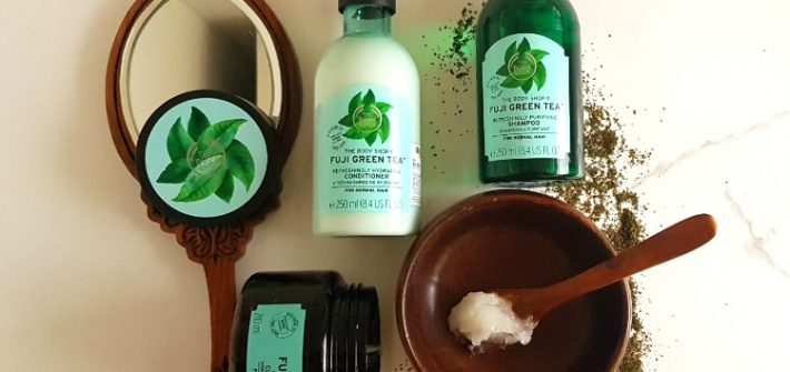 The Body Shop Fuji Green Tea Hair range review