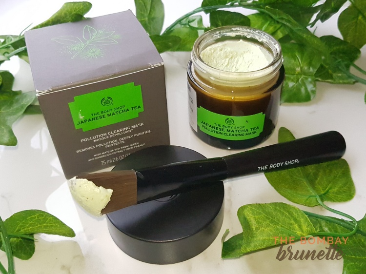 The Body Shop Japanese Matcha Tea Pollution Clearing Mask review