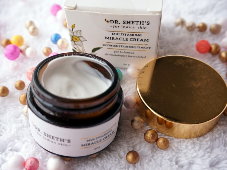 Dr. Sheth's Multitasking Miracle Cream review