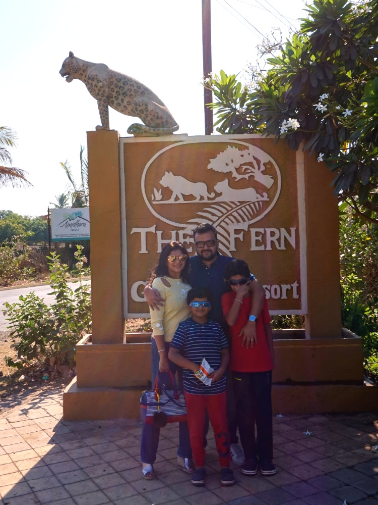 Entrance to the Fern Gir Forest Resort