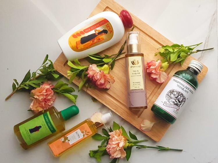 Best Hair oils for hair massage