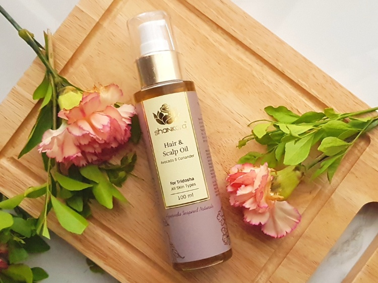 Shankara hair oil for hair massage