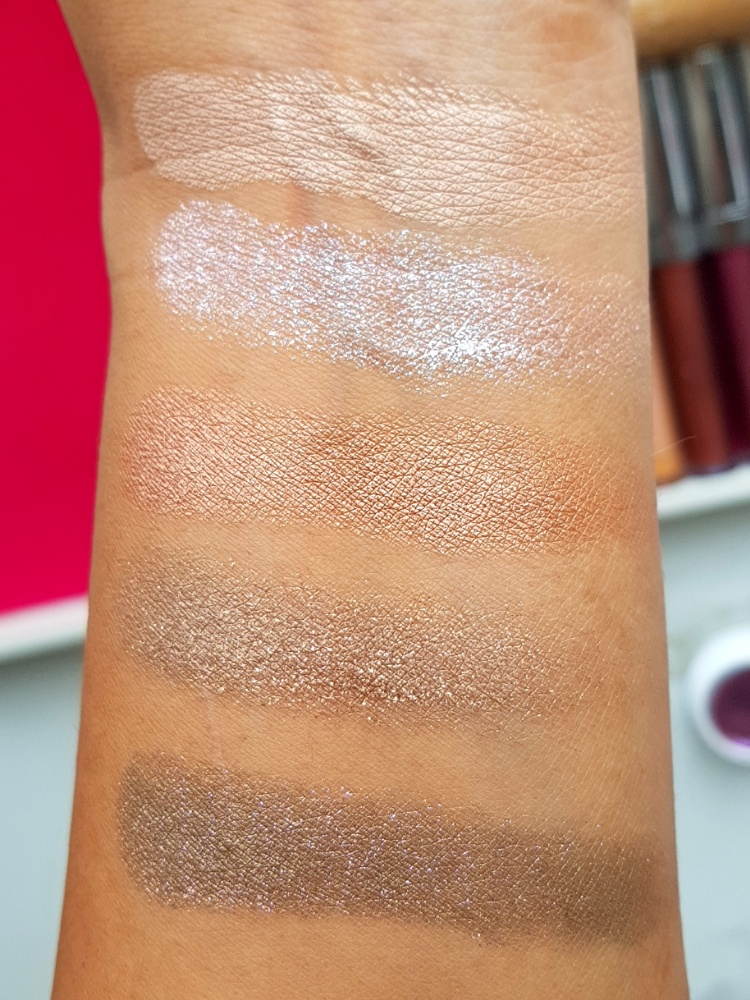 Colourpop Super Shock shadows review and swatches