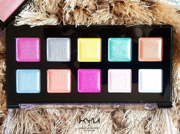 NYX Love You So Mochi Eyeshadow Palette Arcade Glam