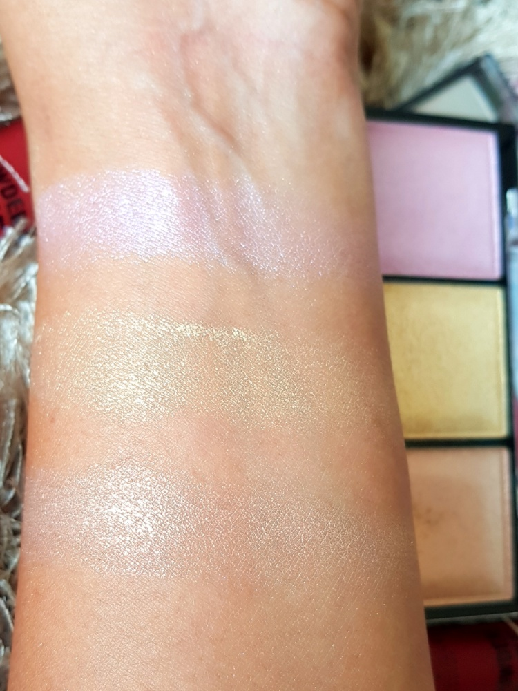 NYX Lit Life Swatches
