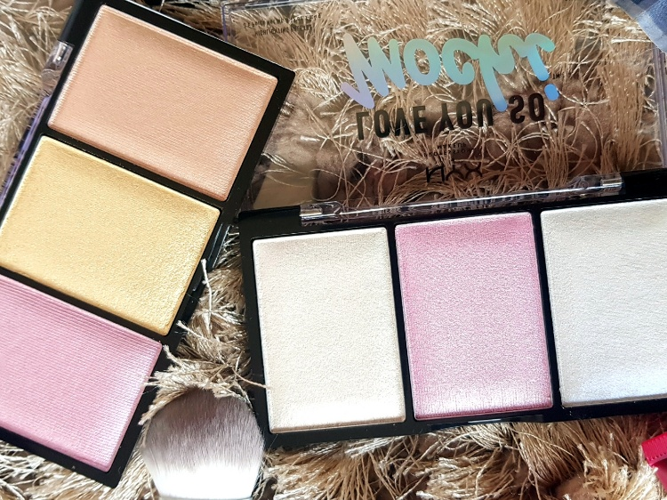 NYX Love You So Mochi Highlighter Swatches
