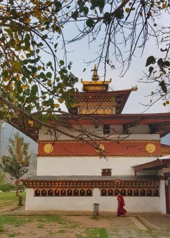 Chimi Lakhang, Fertility temple, Punakha, Bhutan
