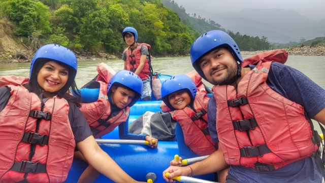 River Rafting in the Mo Chhu river, Punakha, Bhutan