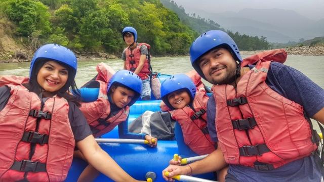 River Rafting in the Mo Chhu river, Punakha, Bhutan