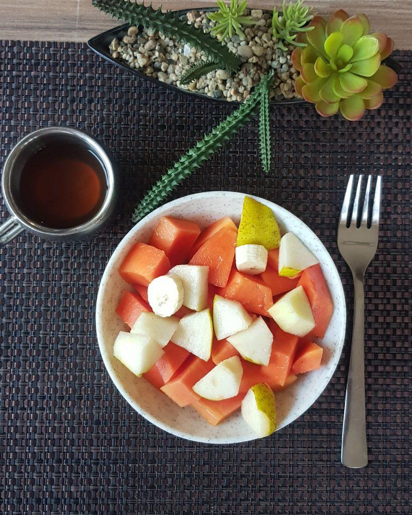 Breakfast at Nimba Nature Cure Village