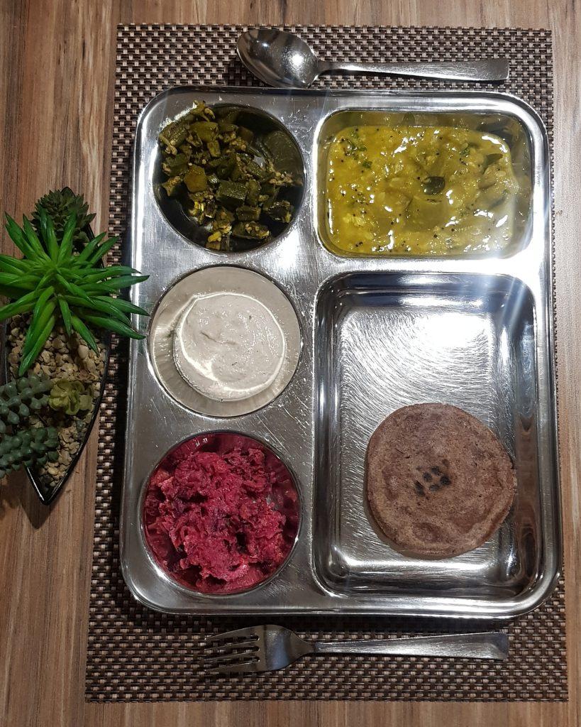 Meal at Nimba Nature Cure Village