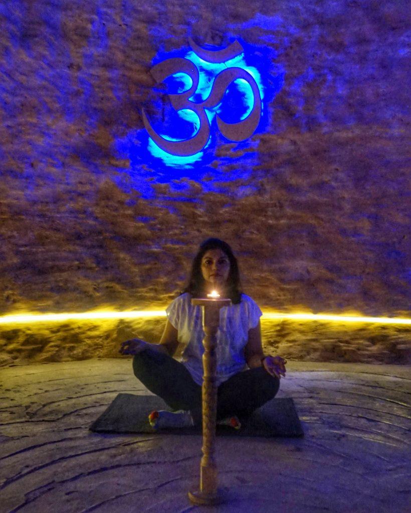 Cave meditation Nimba Nature Cure Village