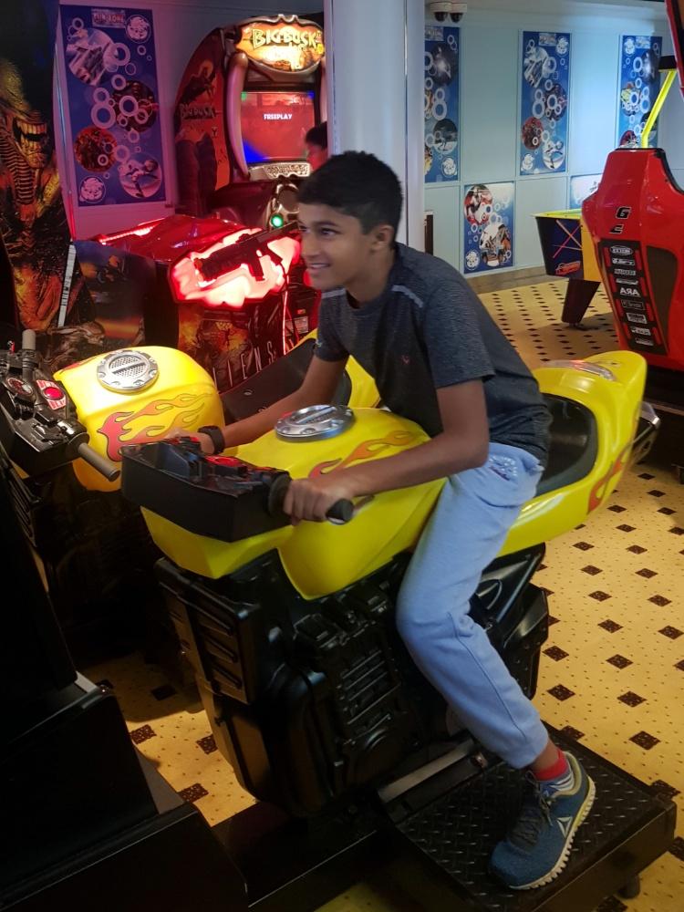 Fun Zone on Jalesh Cruises Karnika
