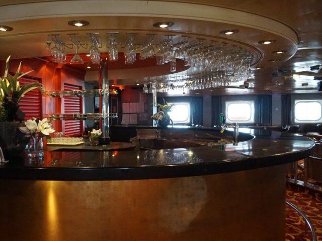 Players Bar at the Casino on Jalesh Cruises Karnika