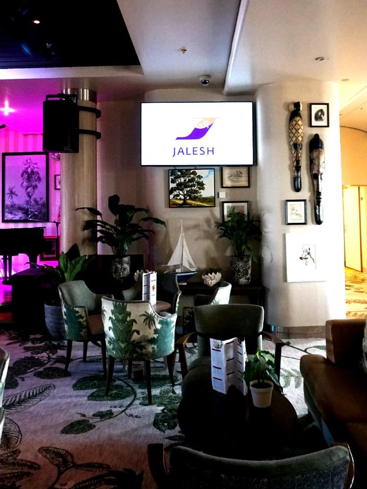 Connexions Bar on Jalesh Cruises Karnika