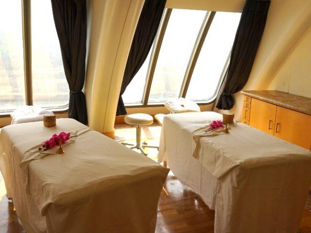 Couple's spa room on Jalesh Cruises Karnika