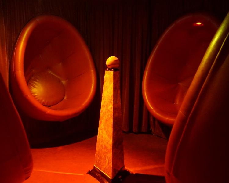 Meditation room on Jalesh Cruises Karnika