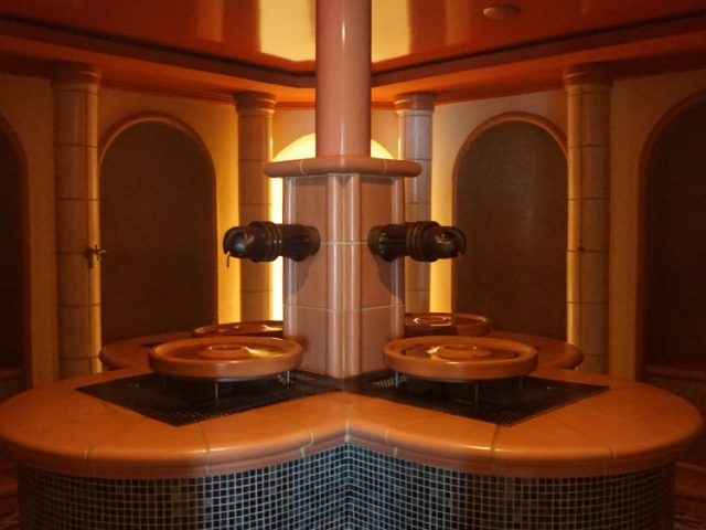 Herbal Steam room on Jalesh Cruises Karnika