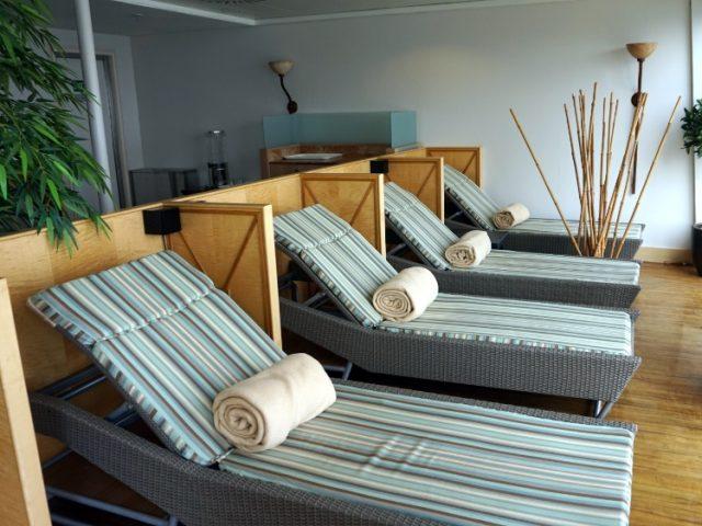 Relaxation Room on board Jalesh Cruises Karnika